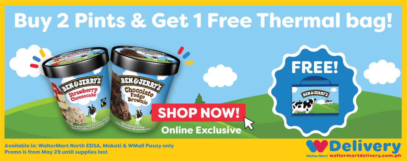 Ben & Jerry Online Exclusive