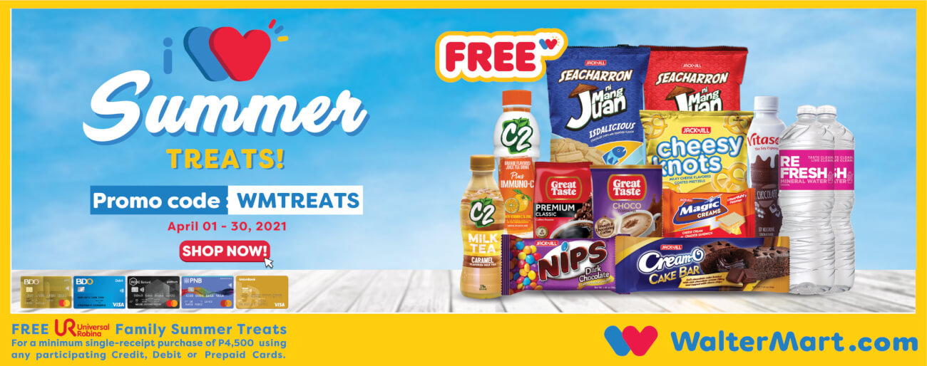 Summer Treats Banner