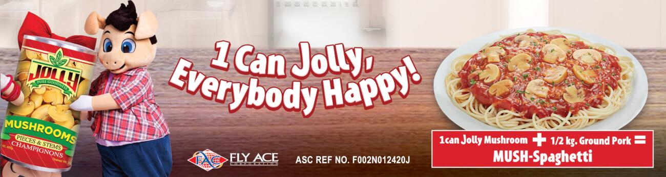 Jolly Mushroom Banner